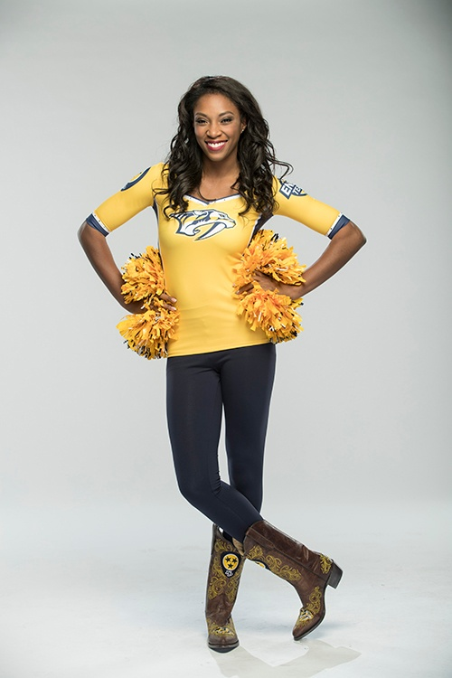 Nashville Predators Energy Team custom cheer uniforms