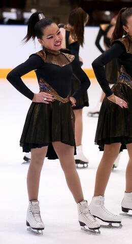 beyonce theme futuristic skate dress by Teams Elite
