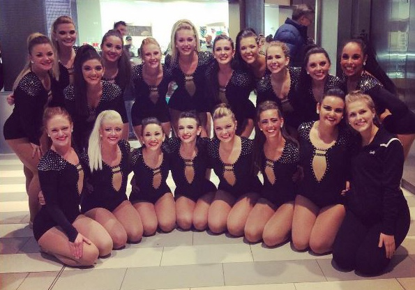 St Cloud State University dance team jazz costume