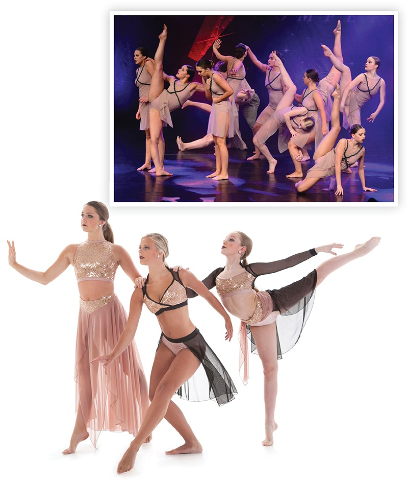 Color of the year for dance costumes: dusty rose