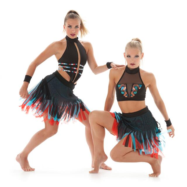 tribal theme dance costumes
