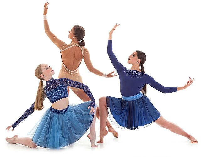 jazz and lyrical dance costumes