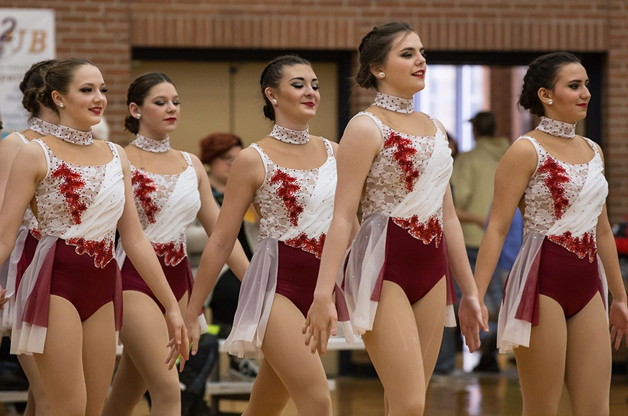 Valley City High School - custom jazz costume 2017