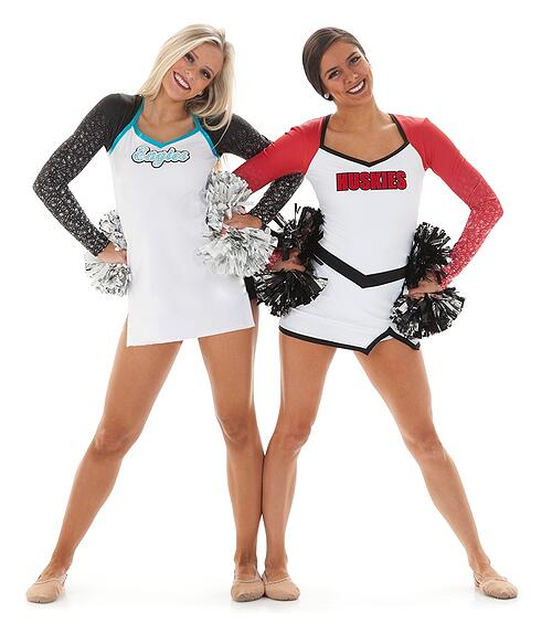 SCSU dance team pom uniform