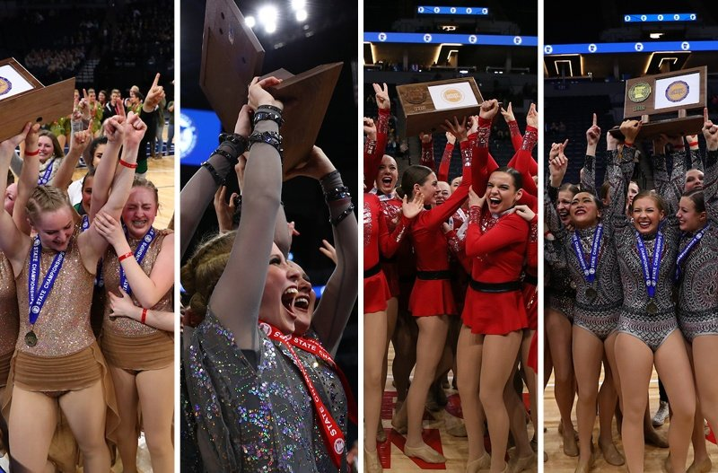 2018 Minnesota state high school dance tournament