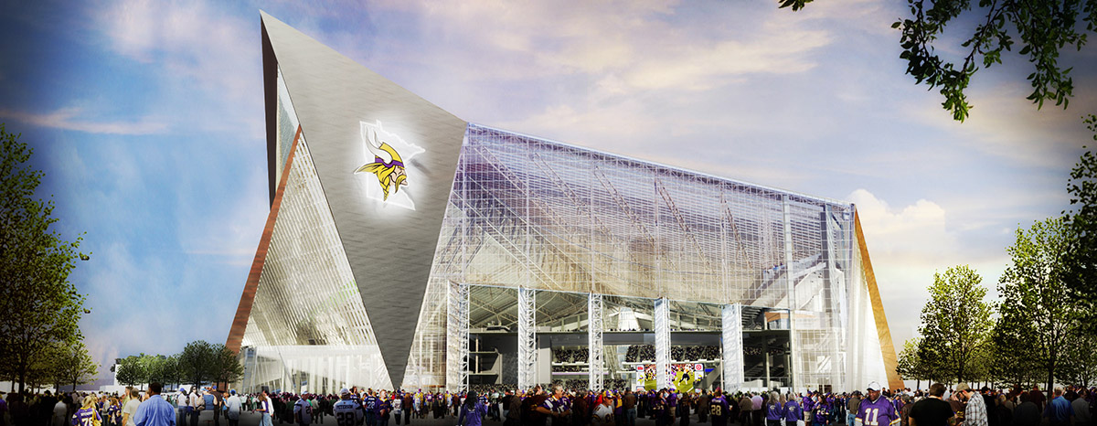 US Bank Stadium rendering