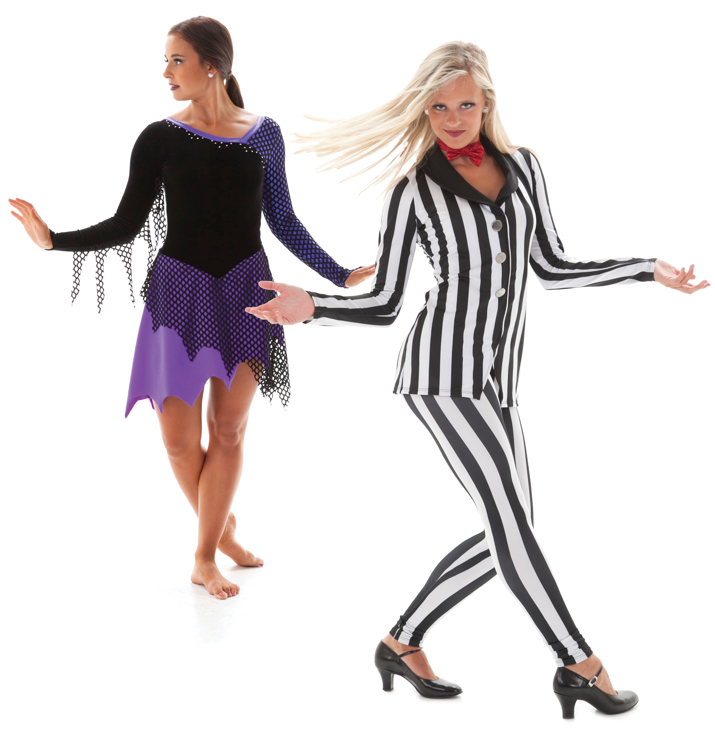 Addams Family Skate dress and Beetlejuice dance costume