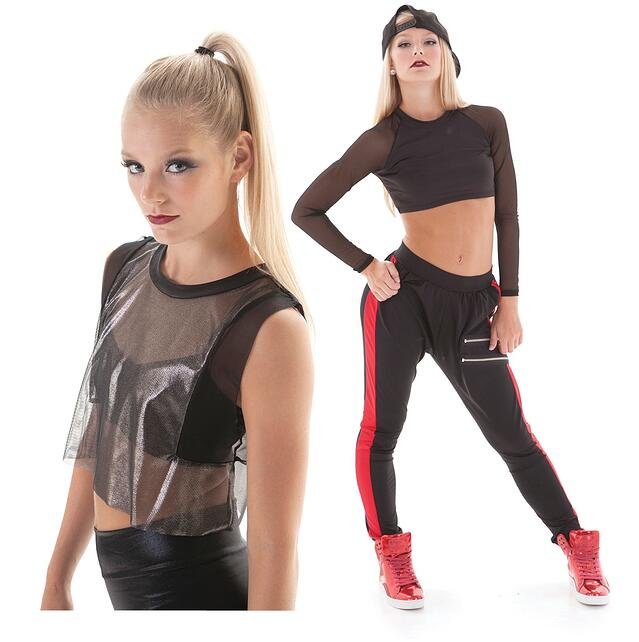 1a1f491db6759 Top Hip Hop dance costume trends - mesh