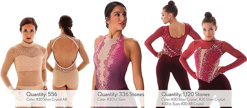 dance costume rhinestone estimating guide
