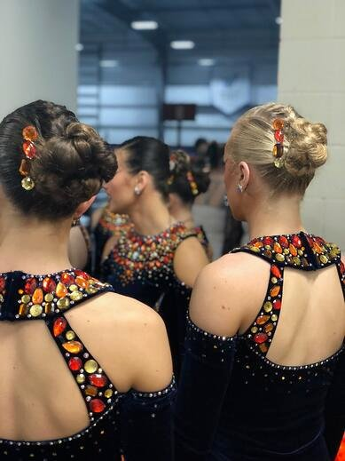seton dance team custom dance costumes at UDA NDTC