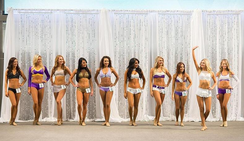 Minnesota Vikings pro cheer auditions