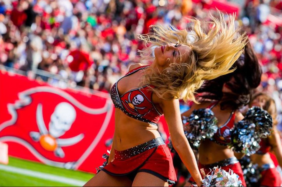 The Line Up - Tampa By Buccaneer Cheerleaders - Signature Costume