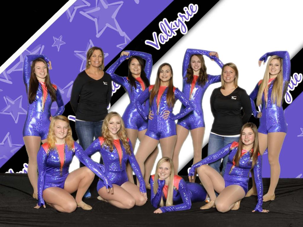 Pelican Rapids Dance Team, 2014-2015, The Line Up