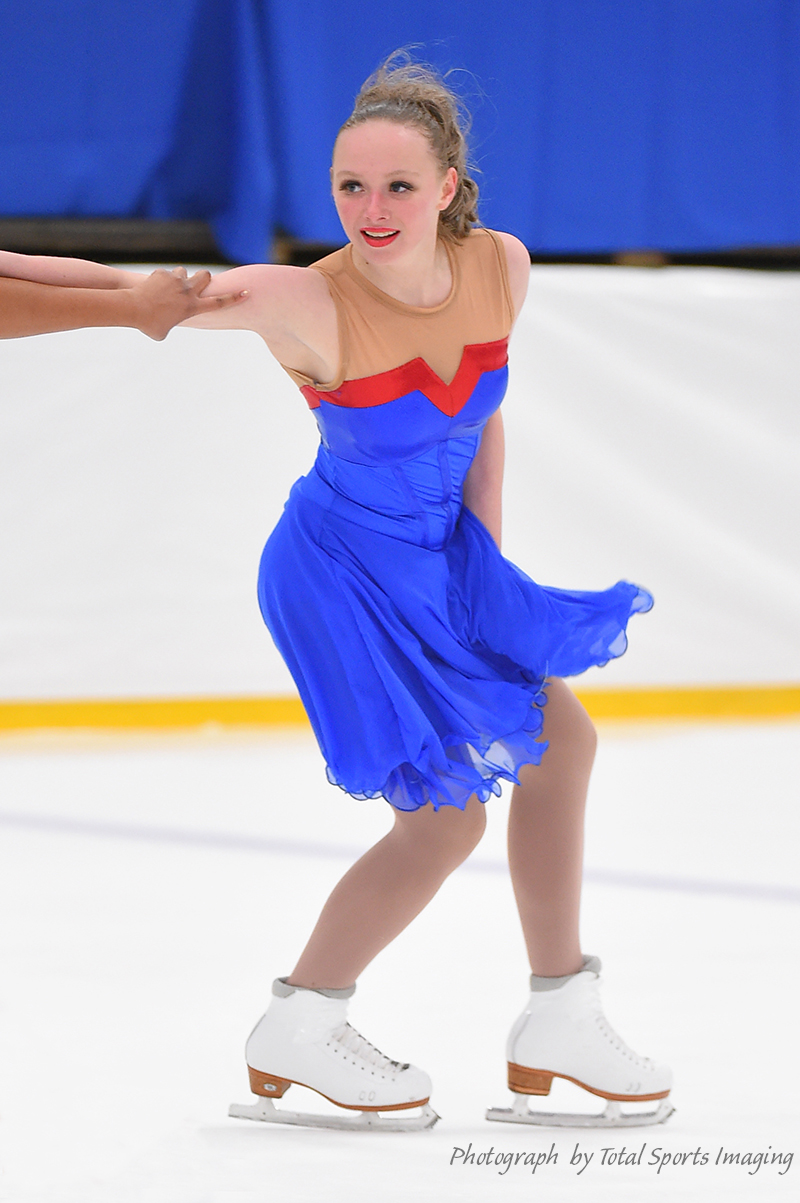 The Line Up - Chicago Radiance Intermidate - Mids Skate Dress