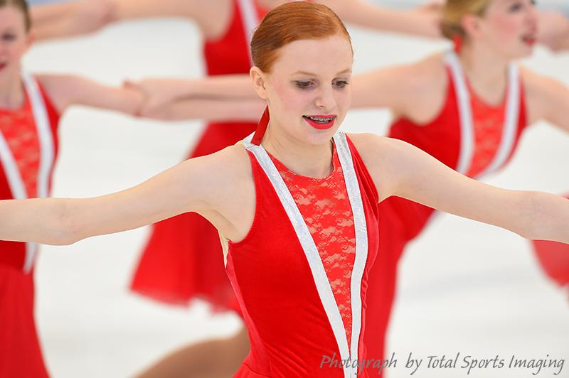 The Line Up - Synchro St. Louis Ice Gems Open Juvenile - Mids Skate Dress