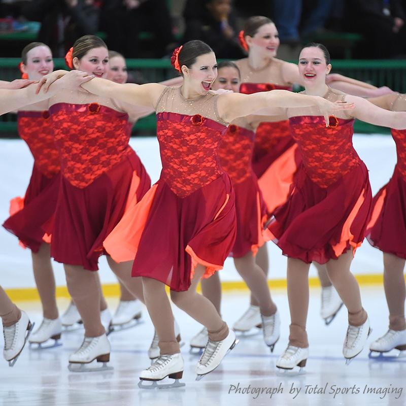 The Line Up - Synchro Panache Intermediate - Mids Skate Dress