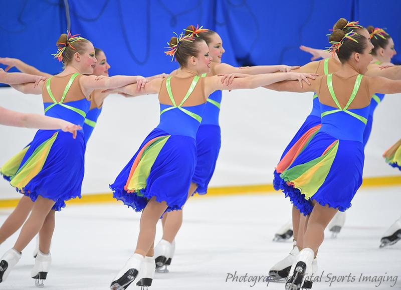 The Line Up - St. Louis Synergy Novice - Mids Skate Dress