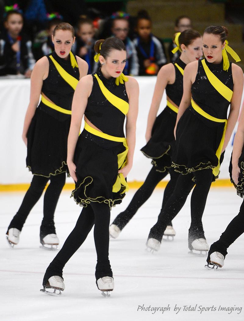 The Line Up - Capital Ice Chips Intermediate Mids Skate Dress