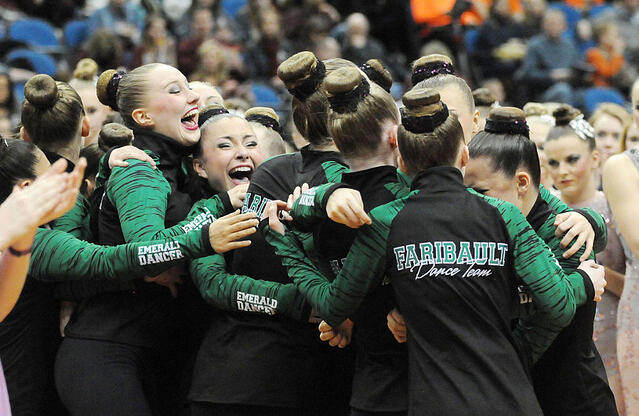 faribault dance team warm-up jacket