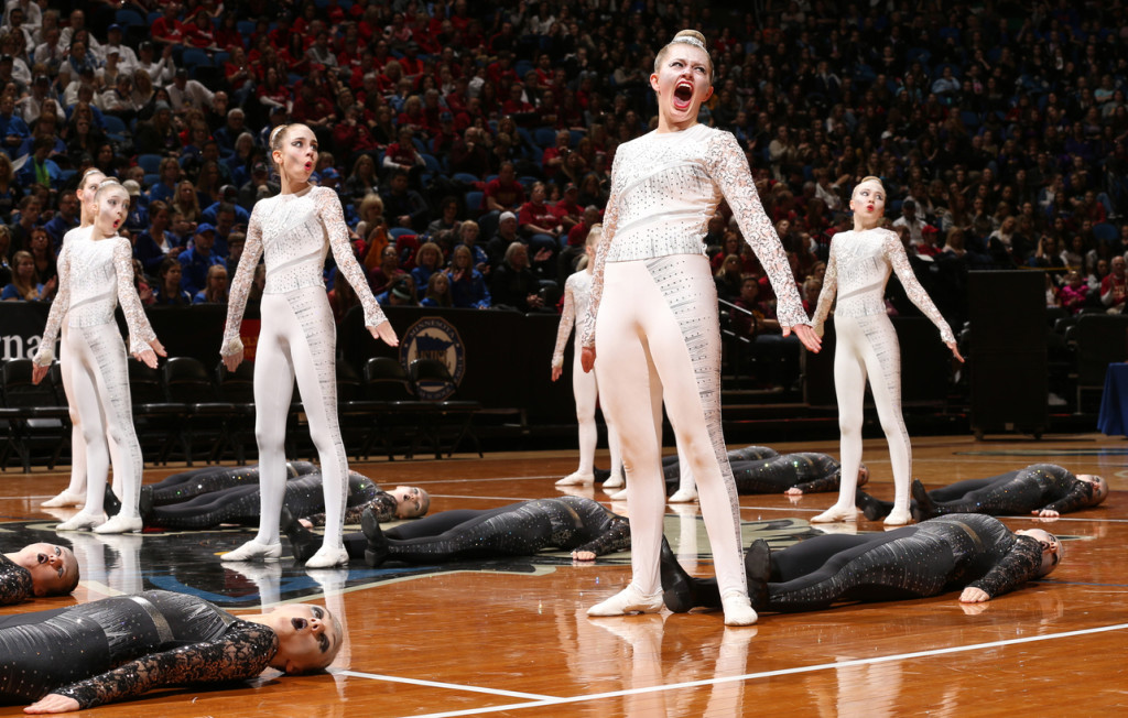 faribault high kick shadow costume by The Line Up