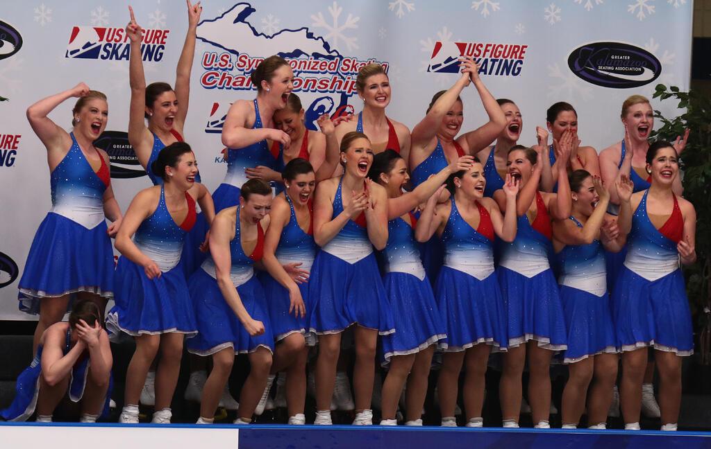 Champions of Synchronized Skating