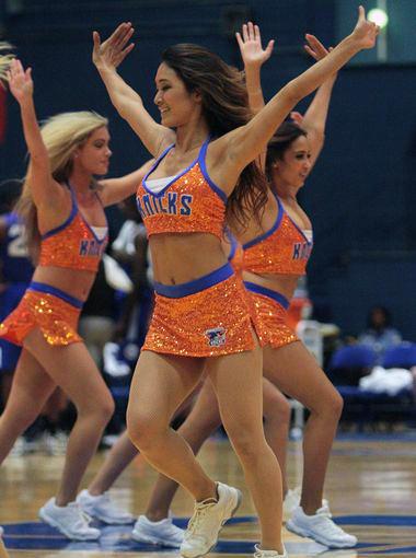 Westchester Knicks Dancer 2014 The Line Up Uniforms