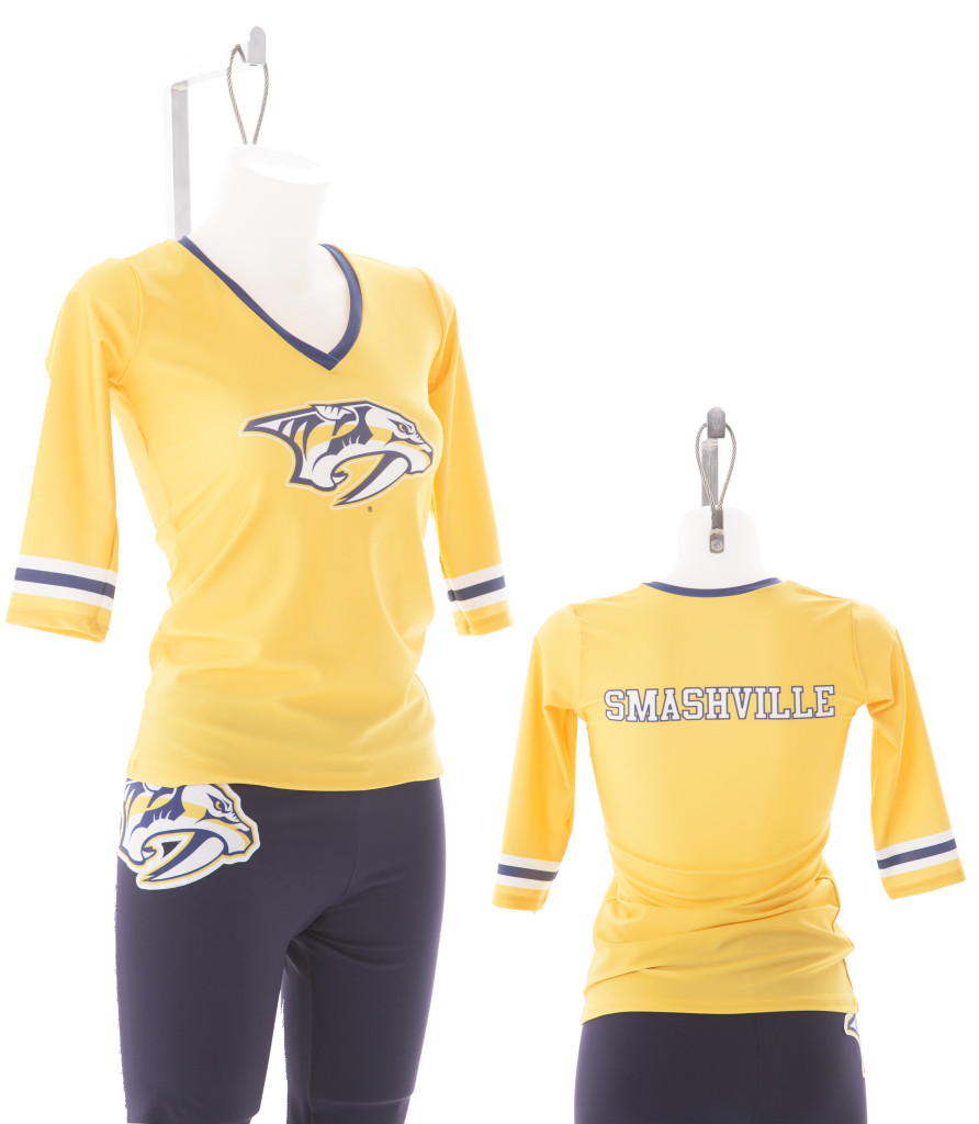 Nashville Predators Energy Team Custom Uniform by The Line Up