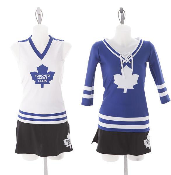 Toronto Maple Leafs Ice Crew Custom Uniform by The Line Up