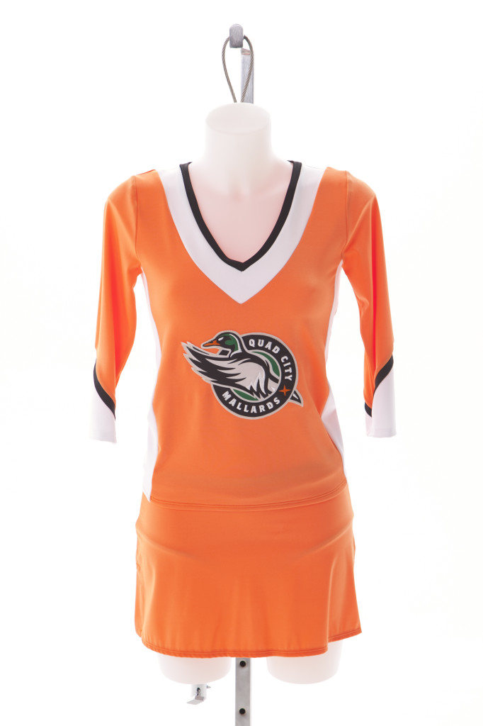 Quad City Mallards Ice Girls Custom Uniform by The Line Up