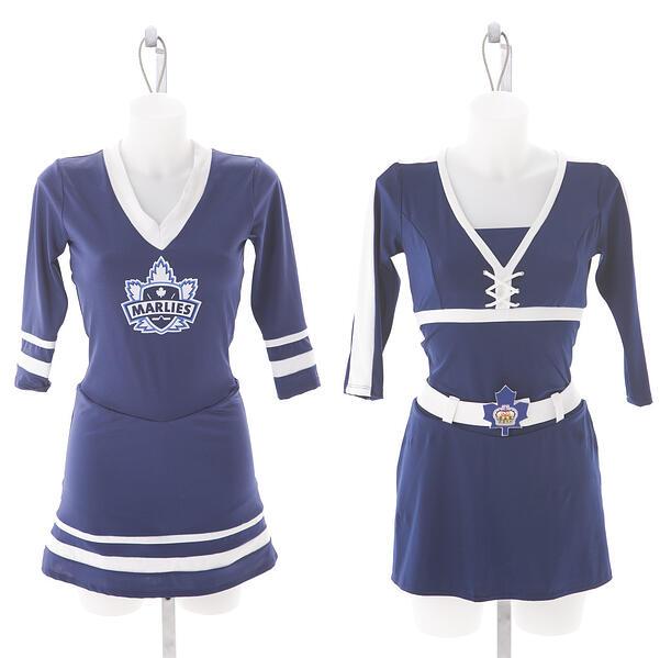 Toronto Marlies Dance Crew Custom Uniforms by The Line Up