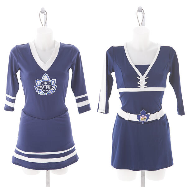Toronto Marlies Dance Crew Custom Uniforms by The Line Up