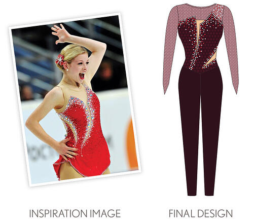 St Francis High Kick inspiration picture of Gracie Gold