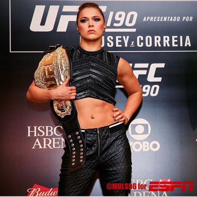 Ronda Rousey St Thomas Jazz costume inspiration