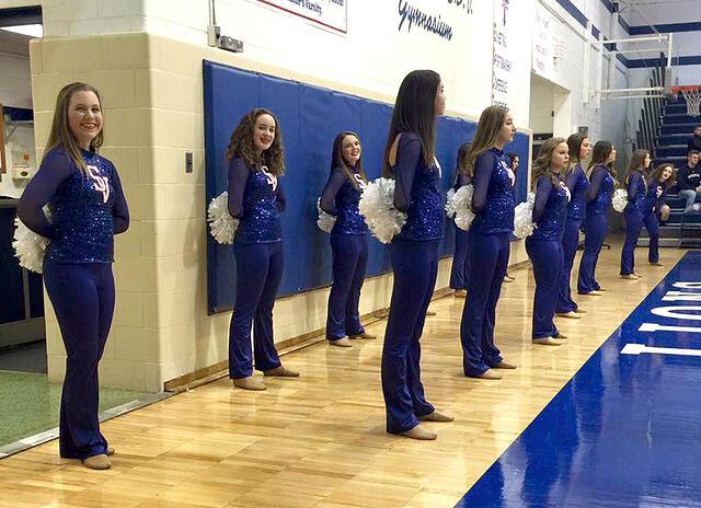 St. Viator Dance Team uniforms, The Line Up