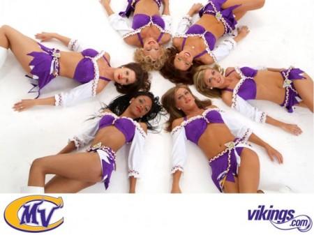 Vikings Cheerleaders Tryouts