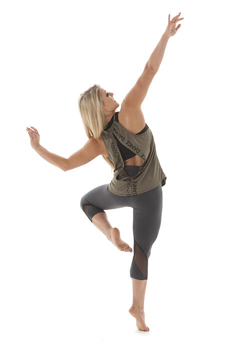Innovate Dance, Karl Mundt, The Line Up, mesh cut out leggings, open back tank