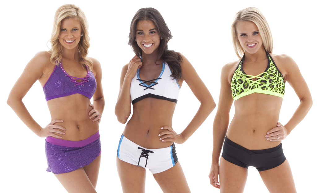 420-9, sparkly tryout top, sporty audition outfit, leopard print tryout top, audition wear, The Line Up
