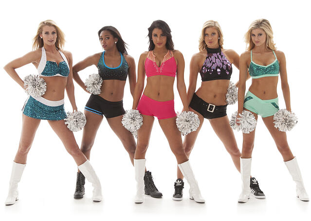 color, tryout outfits, hot pink, mint, leopard, turquoise, spangles