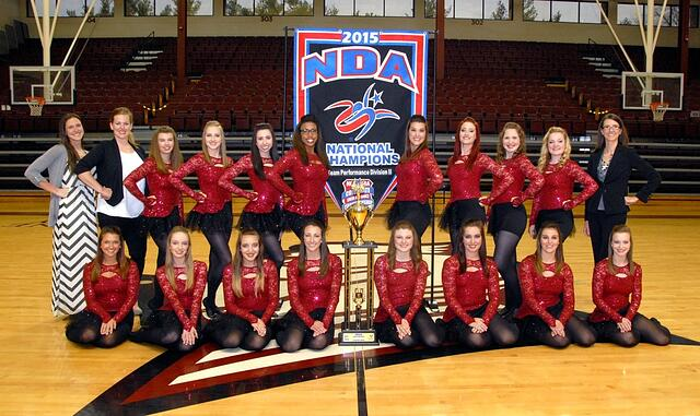 Bellarmine Dance Team, 2015 National NDA Champions, The Line Up