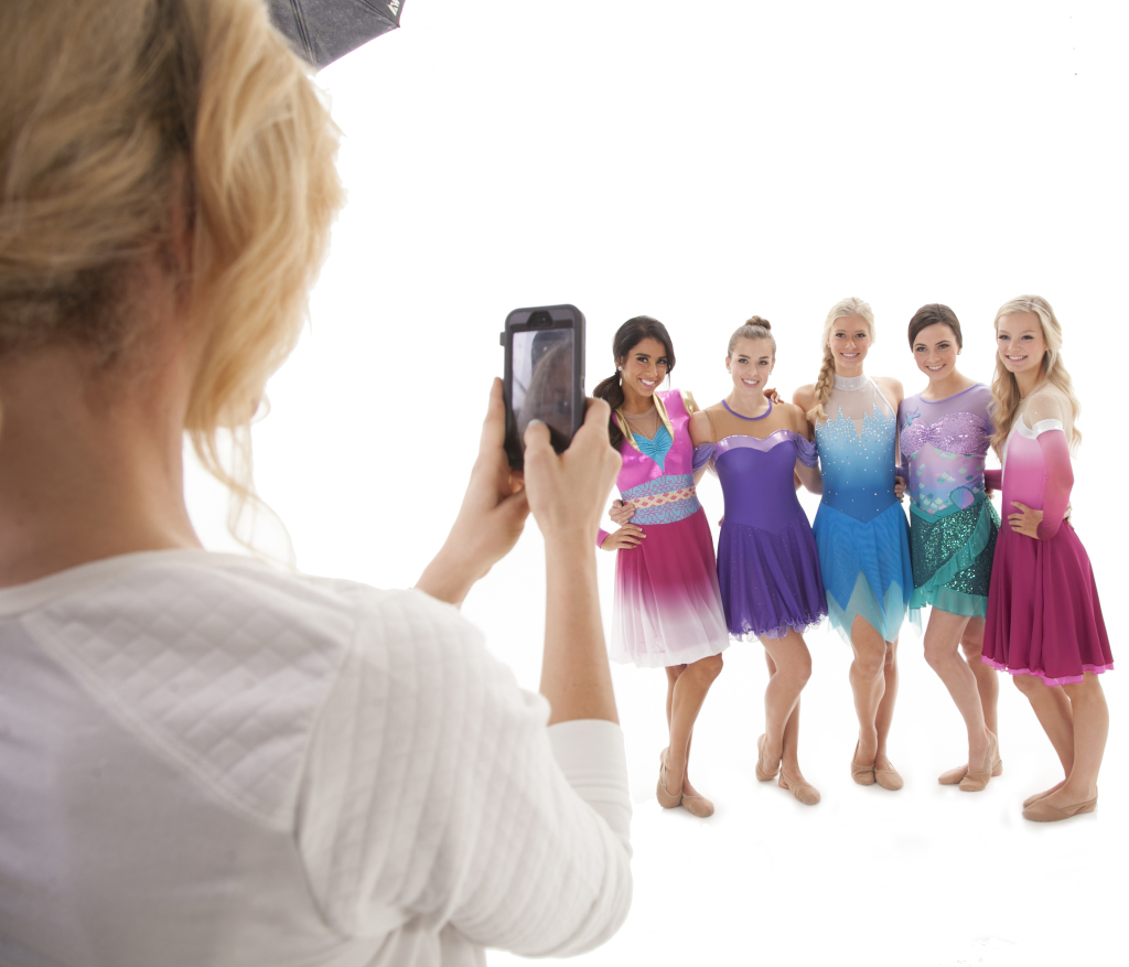 Social Media, princess costumes, The Line Up, Behind the scenes, photshoot