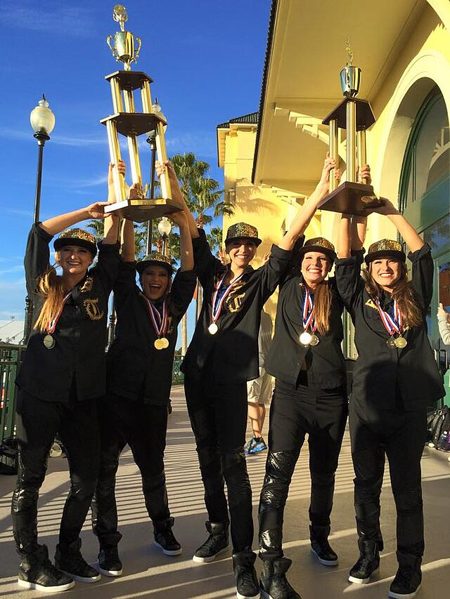 USTDT Hiphop 2015, National Champions, Holy Grail, St. Thomas Dance Team, The Line Up, hip hop costume