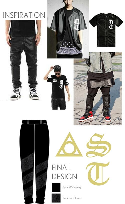 St. Thomas dance team hip hop costume inspiration, The Line Up
