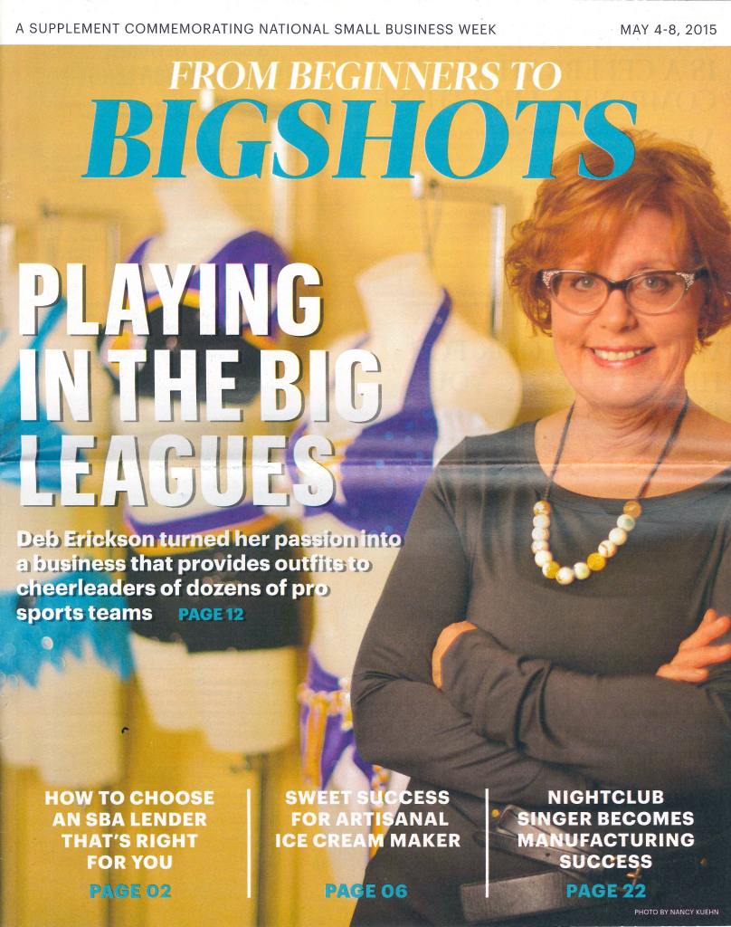 Beginners to Bigshots Article - Deb Erickson & The Line Up