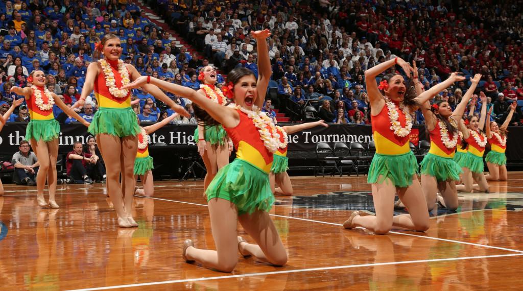 South Saint Paul hula girl kick costume 2016, The Line Up