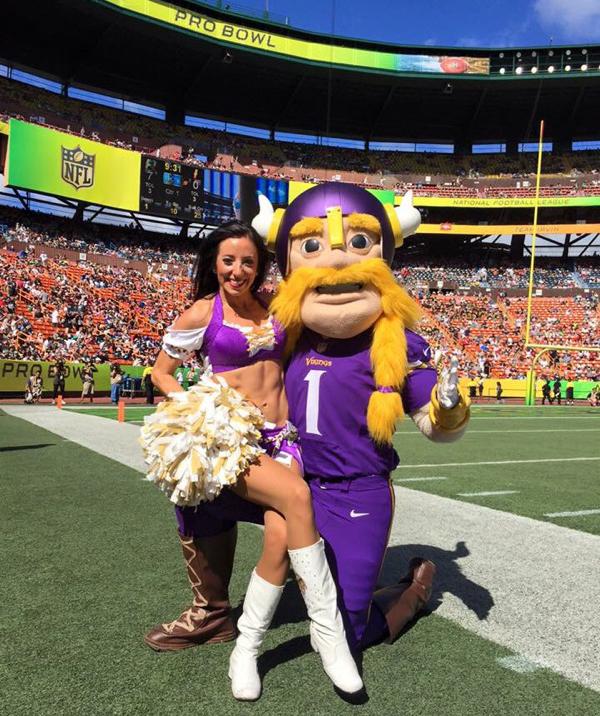 2016 Minnesota Vikings Pro Bowl Cheerleader Karen