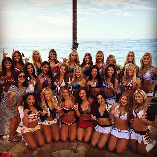 2016 Pro Bowl Cheerleaders