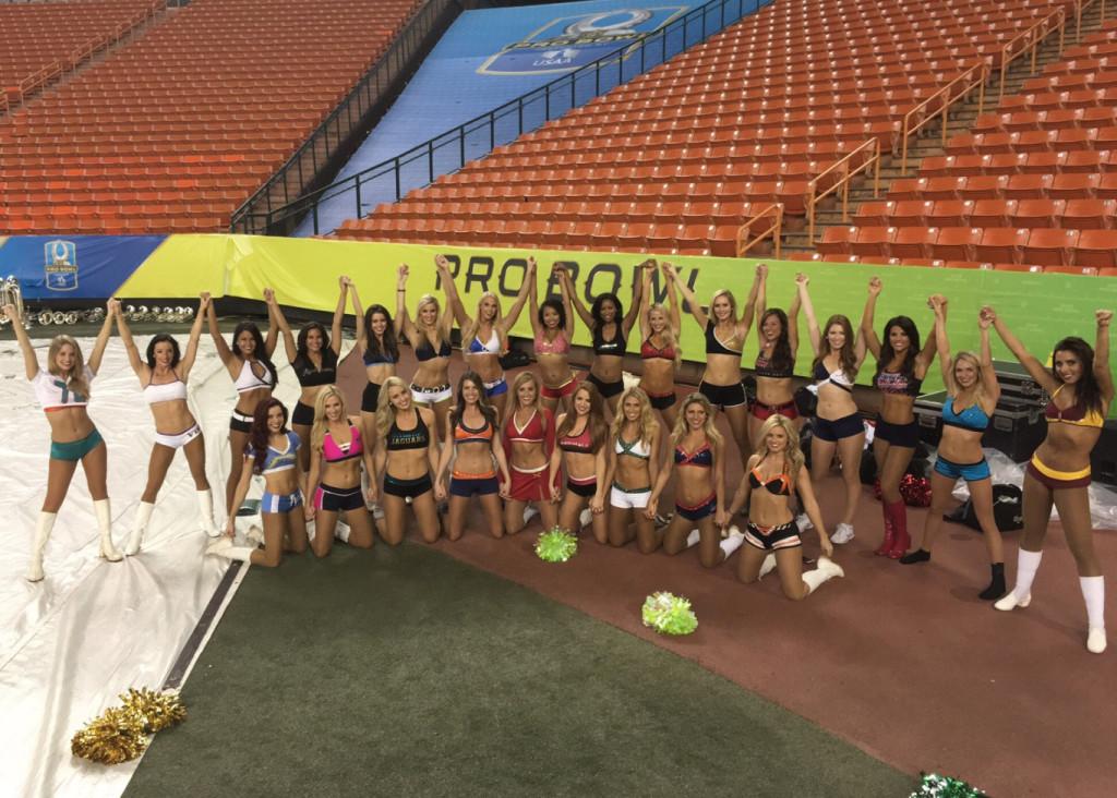 2016 Pro Bowl Cheerleaders