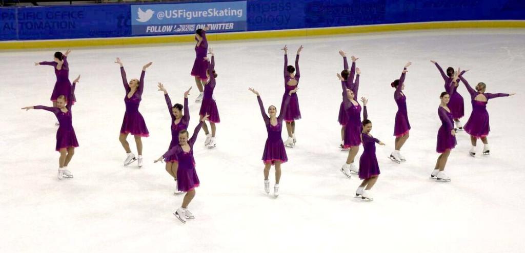 Wisconsin Edge Intermediate Purple Skate Dress by The Line Up