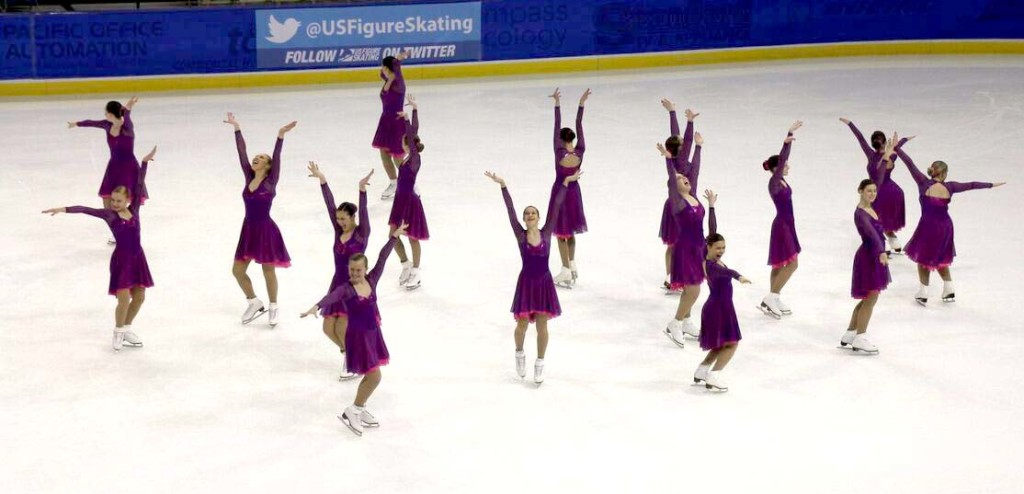 Wisconsin Edge Intermediate Purple Skate Dress by The Line Up
