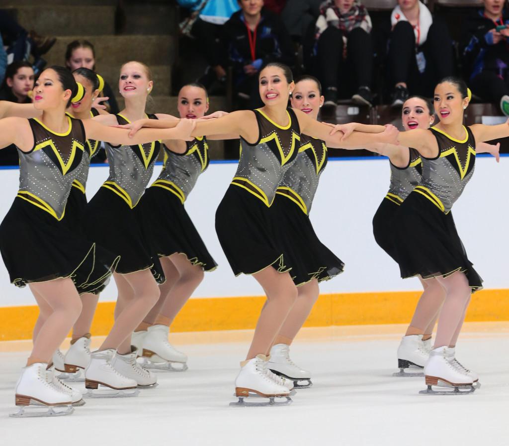 university of Delaware synchronized skating team